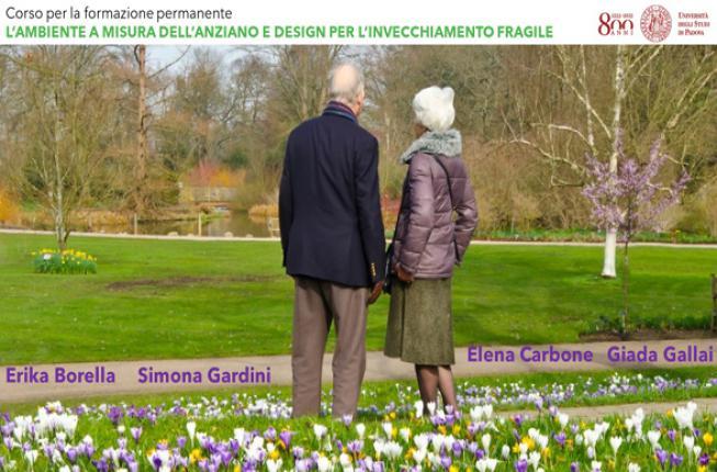 Collegamento a L'ambiente a misura dell'anziano e design per l'invecchiamento fragile